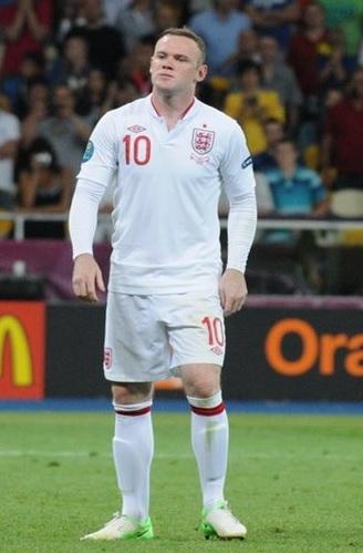 Wayne Rooney er en av utallige idrettsutøvere som bruker visualisering aktivt. (Bilde © Kryzhanovsky Kirill, CC BY-SA 3.0)